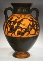 greek vase tattoo painting